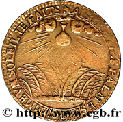 Token - Louis XIV (Reims) – reverse