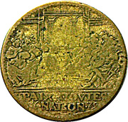 Token - Louis XIV (Paix a Toutes Nation) – reverse