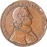 Archevêché de Paris - François Harlay de Champvallon – obverse