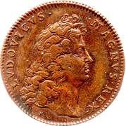 Token - Louis XIV – obverse