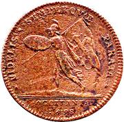 jeton royal louis XIV * FIDELIS * SEMPERQUE * PARATA * 1698 – reverse