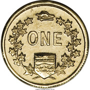 Dollar - British Columbia Gold (Miners) – reverse