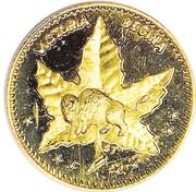 Dollar - Manitoba (Maple Leaf & Bison) – obverse