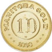 Dollar - Manitoba (Maple Leaf & Bison) – reverse