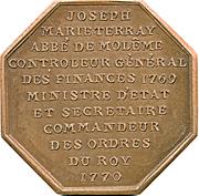 Abbaye de Molesmes - Joseph Marie Terray – reverse