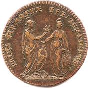 Louis XV – reverse