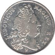 Louis XIV-Trésor royal (frappe originale) – obverse