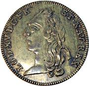 Jeton - Le sacre a Reims Louis XV 1723 – obverse