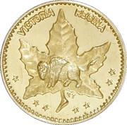 ½ Dollar - Manitoba (Maple Leaf & Bison) – obverse