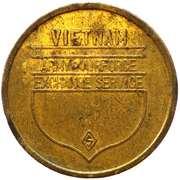Token - Army & Airforce Exchange Service (Vietnam) – obverse