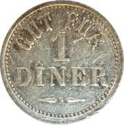 Token - Gut Fur 1 Diner – obverse