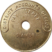 District Accounts Office - Pay Deptt – obverse