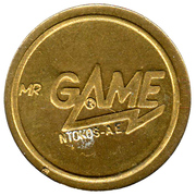 Token - Mr. Game – obverse