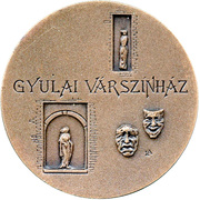 The Gyula Castle Theatre – obverse