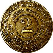 2 Peso - Guatemala Osuna Rochela (harvester token) – obverse