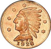 Dollar - Alberta Gold (Indian head) – obverse