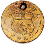 Dollar - Alberta Gold (Indian head) – reverse