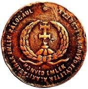 Medallion - Coronation of Franz Joseph – reverse