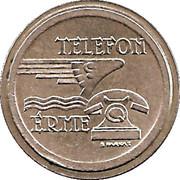 Telephone Token - Telefon Erme (Bronze) – obverse