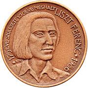 Ferenc Liszt (2) – obverse