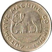 1 Cent - Automatic Machine Co – obverse