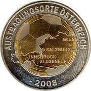 Token - UEFA Euro 2008 (Austria) – obverse