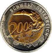 Token - UEFA Euro 2008 (Austria) – reverse