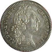 Chamber of commerce La Rochelle - Louis XV – obverse