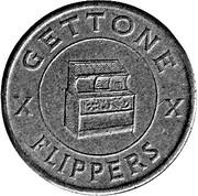 Jukebox Token - Gettone Apparecchi Elettrici (Sartori, Busto Ar.) – reverse