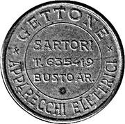 Jukebox Token - Gettone Apparecchi Elettrici (Sartori, Busto Ar.) – obverse