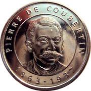 Token - I Grandi Protagonisti del Millennio (Pierre De Coubertin) – obverse