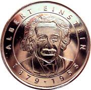 Token - I Grandi Protagonisti del Millennio (Albert Einstein) – obverse
