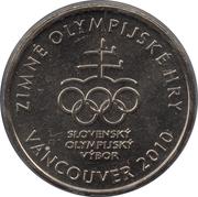Kremnica Mint Token (Vancouver Olympics) – obverse