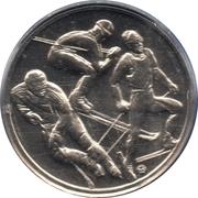 Kremnica Mint Token (Vancouver Olympics) – reverse
