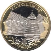 Kremnica Mint Token - Vlkolínec – obverse