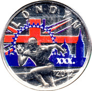 Kremnica Mint Token (London Olympics) – obverse