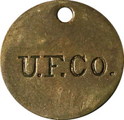Trade Token - UNITED FRUIT CO – obverse