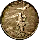 Token - First Census in the Empire of Japan – obverse