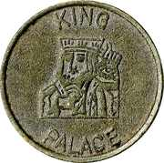 Token - King Palace – reverse