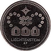 Token - Liechtenstein (Golden Eagle) – reverse