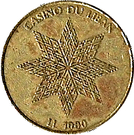 1000 Livres - Casino Du Liban – reverse