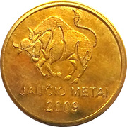 2 Kaziu (Year of the Ox) – obverse