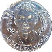 Official Lithuanian Basketball Players Medal Collection (Artūras Karnišovas) – obverse