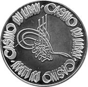 100 Livres - Casino Du Liban – obverse