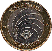 Token - Agong XII (Independence) – obverse