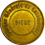 Safe Deposit Token - Banque Générale du Luxembourg – obverse