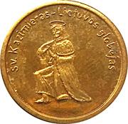 2 Kaziu (Saint Casimir the Patron of Lithuania) – obverse