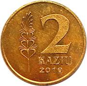 2 Kaziu (Saint Casimir the Patron of Lithuania) – reverse