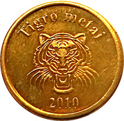 2 Kaziu (Year of the Tiger) – obverse