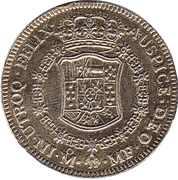 Replica - 8 Escudos Charles III 1765 – reverse